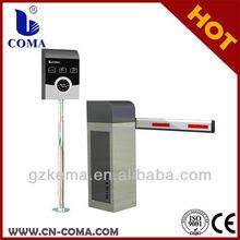 RFID ticket dispenser for parking lot, parking barrier