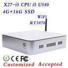 XCY x27-i5 Mini pc/Intel Core i5 Mini PC/mini pc Ultra thin PC