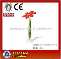 Rubber Lively Promotional Flower Plastic Pen Wholesale