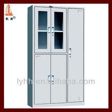 navajowhite 5 door glass metal premier file cabinet,steel filing cabinet office furniture,standard filing cabinet