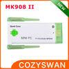 MK908II quad core RK3188 portable android tv box remote control mini pc