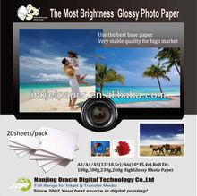 200g /230g /260g inkjet a4 glossy photo paper wholesale,hp/epson inkjet printer ,full color high glossy inkjet photo paper