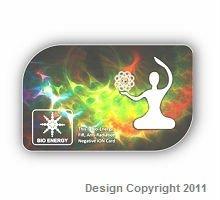 Anti-radiation bio energy card