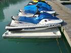jet ski boat slider dock watercraft float