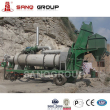 25t/h Mobile Asphalt Hot Mix Plant for Road Construction Equipment