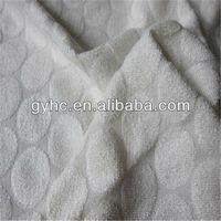 high quality dot shape jacquard towel bamboo with satin