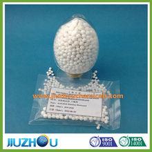 desiccant activated alumina oxide agent