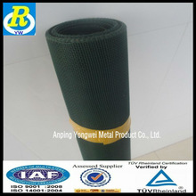 Spray galvanized wire netting window screen