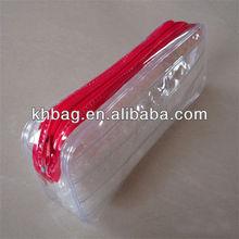 plastic zipper pvc pen bag