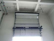 Wuxi electric overhead door exterior with PU foam