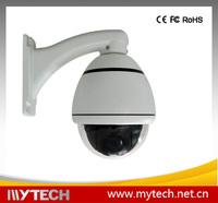 10x optical zoom 650TVL 4 inch mini size outdoor CCTV dome camera PTZ