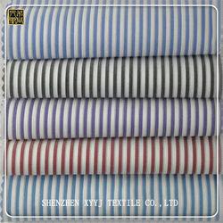 High quality Super soft stripe cotton spandex fabric