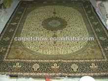 bedroom rug/pure silk carpet