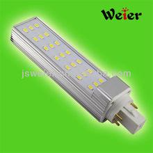 E27 G24 Led Lighting 85-265V AC Led Downlights 5630 9W