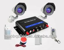 3G module WCDMA wireless home security camera alarm kit CWT5030