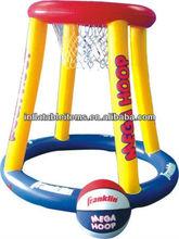 PVC inflatable pool basketball hoop set EN71 approved