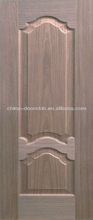 Quality guaranteed HDF veneer mahogany solid wood door
