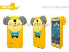 3D Cute Cartoon Animal Romane Silicone Cover Case for Samsung Galaxy S4 Mini I9190