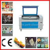 Acrylic/ Plastic/ PMMA/ Organic Glass/ Wood CNC laser acrylic letter cutting machine PEDK-13090