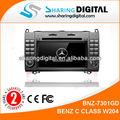 Condivisione digitale bnz-7301gd mercedes w169 autoradio androide sostegno 4.0