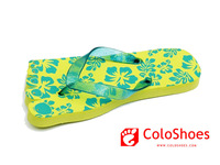 Coface ladies pvc eva sandals and slippers