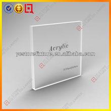 Acrylic block display/acrylic logo block/lucite block