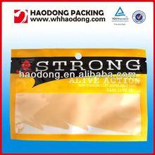 HOT! Factory custom food grade fishing lures packing bags