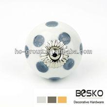 Ceramic porcelain knobs elegant handles and knobs