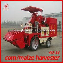 4YZ-3X mini/small corn harvester machine
