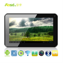 "Metal Cover 9"" Tab 3G Phone Call S19, MTK6577 Android 4.1, Ram 512M Rom 4G, Wifi GPS Bluetooth, SIM Card slot"