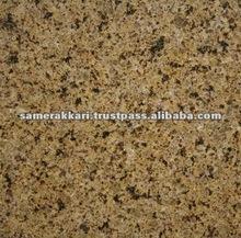 Golden Leaf Polished Yellow Granite Tile