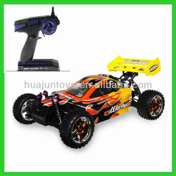 HSP 94106 gas powered rc cars 2.4Ghz 2SP Nitro 4WD Off Road 1/10 Scale RC Buggy nitro rc car