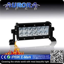 AURORA 6inch led light bar light hid led led motorcycle lamp moto light