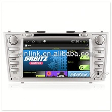 New S150 for Toyota CAMRY car radio tv dvd +Android + 3G WiFi +CPU 1G 4GB Flash +1080P