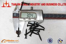 3.05MM Black Phosphating Fluted Shank Concrete Steel Nails