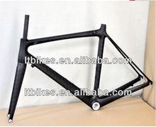 2013 new road bicycle carbon frame & light bike carbon frame road