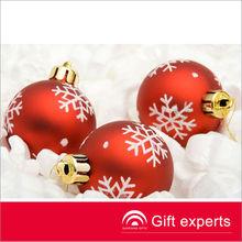 Top quality popular christmas ball hanging decoration