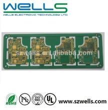 Double sided PCB, ENIG, irregular shape, ROHS/UL certificate, IPC-6012 class 2 standard