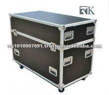 Latest RK plasma screen flight case- RKVATPA cases Protect PA Systems, Projectors, Plasma Screens, Scientific, Sound, Telephones