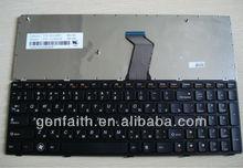 RU/US/LA/BR/SP layout brand New laptop keyboard for LENOVO V570 B570