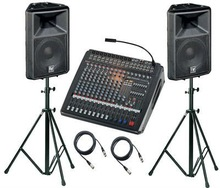 PUBLIC ADDRESS SYSTEMS, AUDIO SYSTEMS, SPEAKERS, MICS ETC...