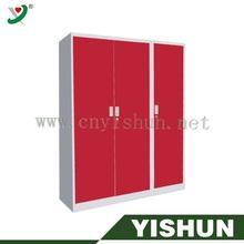 De color rojo y gris de metal del cajón del gabinete de archivo, mueblesdeoficina dibujos
