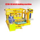 canton fair best selling product QTJ40-3A Hollow brick making machine concrete/blocks wholesale