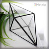 MX130023 china wholesale tiffany style glass terrarium for plant pot