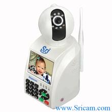 Sricam Network Phone Camera P2P Wireless 3g ip camera module