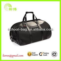 Latest design black men travel bag