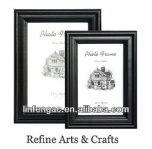 China supply delicate elegant decorative wooden picture frame environmental