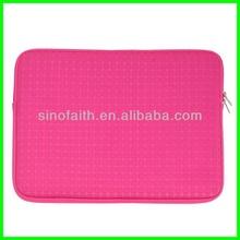 Trendy high class top open laptop neoprene bag