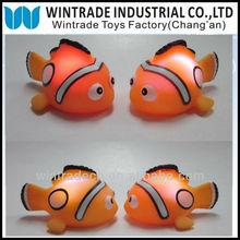 Novelty Rubber Flashing Clown Fish