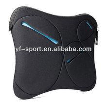 "14""neoprene laptop sleeve with basic essentials pocket"